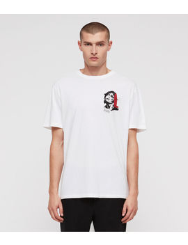 Cracked Crew T Shirt by Allsaints