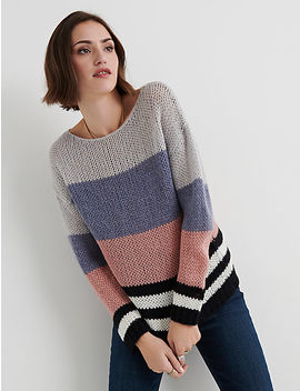Bold Stripe Pullover by Lucky Brand