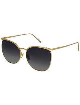 Linda Farrow Women's Lfl509 C4 Sun 59mm Sunglasses by Linda Farrow