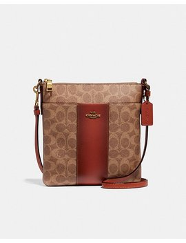 Messenger Crossbody In Colorblock Signature Canvas by Coach