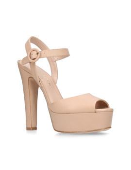Molton Block Heel Platform Sandals by Kurt Geiger London