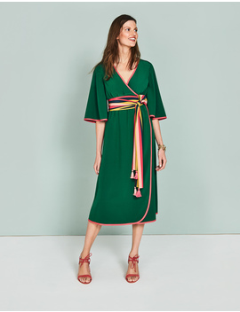 Cornelia Wrap Dress by Boden