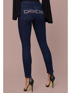 Logo Skinny Jeans by Bebe