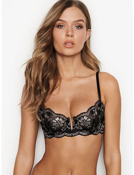Wicked Scalloped Lace Unlined Uplift Bra by Victoria's Secret