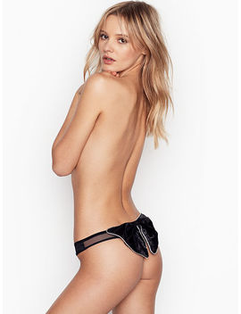 New! Bow Thong Panty by Victoria's Secret
