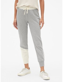 Gap Originals Spliced Joggers In French Terry by Gap