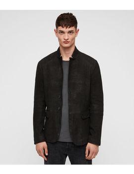 Brenton Leather Jacket by Allsaints