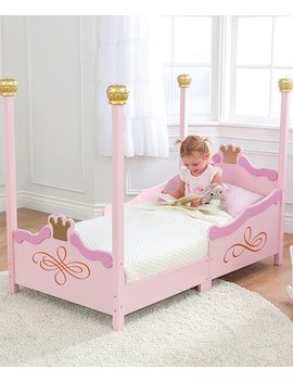 Pink Princess Toddler Bed by Zulily