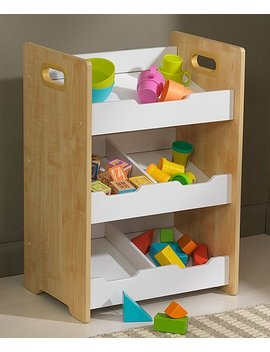 Natural Angled Bin Unit by Zulily