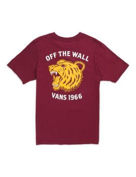Boys Poke The Bear T Shirt by Vans