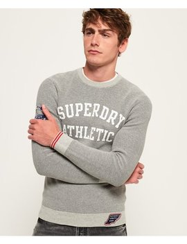 Track Squad Crew Jumper by Superdry