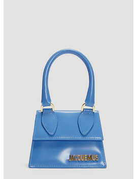 Mini Chiquita Hand Bag In Blue by Jacquemus