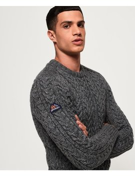 Jacob Crew Jumper by Superdry