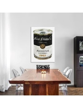 Oliver Gal 'fashion Soup' Fashion And Glam Gallery Wrapped Canvas Art by Oliver Gal