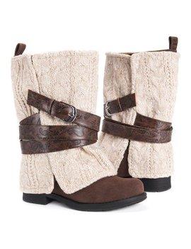 Brown Oat Nikita Boot   Women by Muk Luks