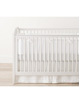 Breathable Baby® For Pottery Barn Baby Linen Mesh Liner, White by Pottery Barn Kids