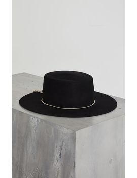 Lasso Chain Boater Hat by Bcbgmaxazria