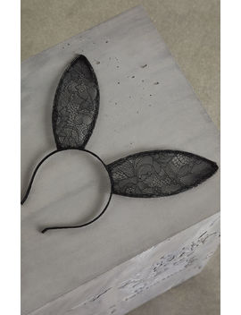 Lace Bunny Headband by Bcbgmaxazria