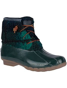 Women's Saltwater Sherpa Duck Boot by Sperry