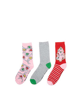 Light It Up Holiday Crew 3 Pack by Betsey Johnson