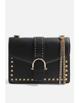 Beth Studded Shoulder Bag by Topshop