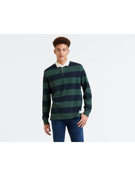 Long Sleeve Mighty Rugby Polo by Levi's