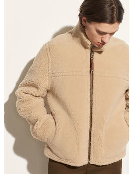 Reversible Shearling Jacket by Vince