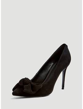 Bennet Real Leather Court Shoe by Guess