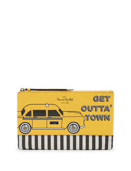 About Town Taxi Pouch by Henri Bendel
