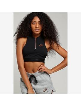 Nike Women's Nsw Air Tank Black/Rose Gold by Nike