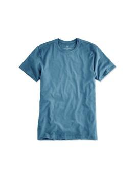 Silver Crew Neck T Shirt by Mack Weldon