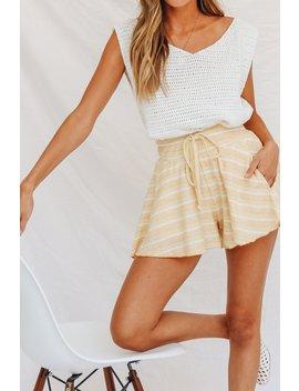 Ollie Tie Front Shorts by Vergegirl
