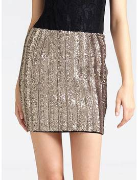 Sequin Skirt by Guess