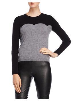 Color Block Cashmere Sweater by Kier & J