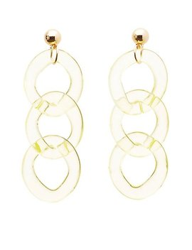 Chainlink Drop Earrings by Charlotte Russe