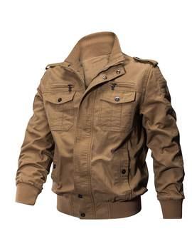 Qiqichen 77 City Us Size Autumn Cotton Casual  Men's Jacket by Gamiss