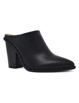 Black Stud Chamber Mule   Women by Zulily