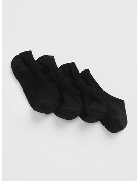 Nylon No Show Socks by Gap