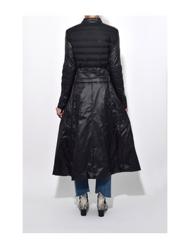 Hightech Softness Coat In Pure Black by Shop Bazaar