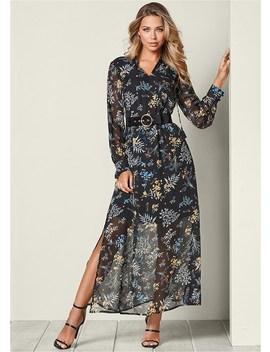 Chiffon Maxi Dress by Venus