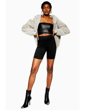 joni-cycling-shorts-with-zip-back by topshop