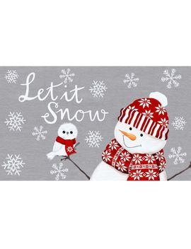 17 X27 Glou Nordic Snowman by At Home