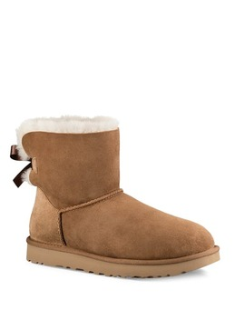 Mini Bailey Bow Ii Ankle Boots by Ugg Australia