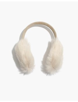 Madewell X Owen Barry™ Shearling Ear Muffs by Madewell