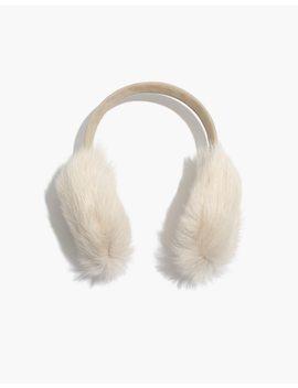 Madewell X Owen Barry™ Shearling Ear Muffs by Madewell