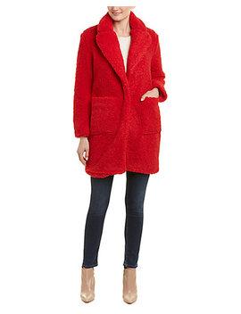 Elvi Fuzzy Coat by Elvi