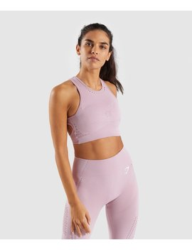 Flawless Knit Sports Bra by Gymshark