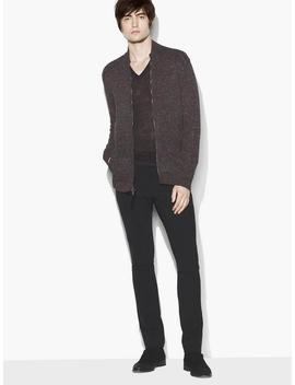 Zip Front Sweater Jacket by John Varvatos