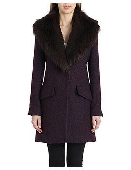 Badgley Mischka Holly  Coat by Badgley Mischka
