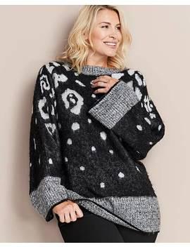 Brushed Leopard Print Tunic by Fashion World
